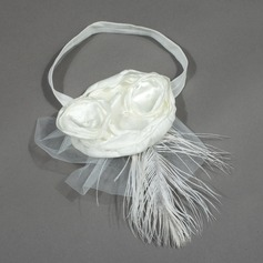 Beautiful Satin/Tulle Headbands
