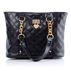 Fashional PU With Metal Shoulder Bags