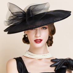 Ladies' Charming Summer Cambric With Bowler/Cloche Hat