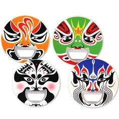 Exotic Peking Opera Bottle Openers