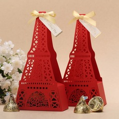 Eiffel Favor Boxes With Ribbons