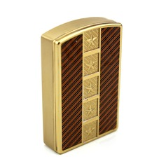 Personalized Star Design Stainless Steel Electronic Lighter