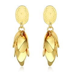 Fashional Gold Plated Ladies' Earrings