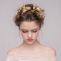 Charming Crystal/Gold Plated Tiaras