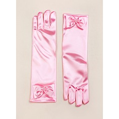 Elastic Satin Elbow Length Glove