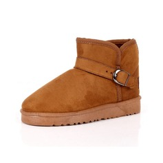 Suede Flat Heel Ankle Boots Snow Boots shoes