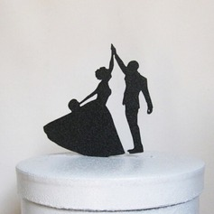 Dancing Couple Acrylic Cake Topper
