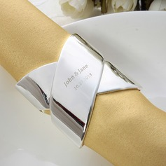 Personalized Zinc Alloy Napkin Rings
