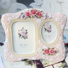 Flower Design Resin Photo Frames