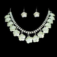 Simple Alloy/Rhinestones Ladies' Jewelry Sets