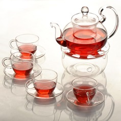 Glass Tea Party Favors(four cups & four saucers)