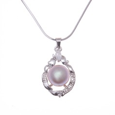 "Beautiful 925 silver and chain/""AAA"" Pearl Women's Necklaces"