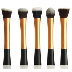 Professional 5Pcs Synthetic Hair Makeup Brush Set (046049523)