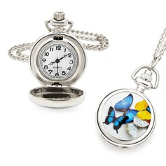 Personalized Zinc Alloy Pocket Watch