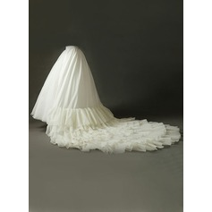 Women Tulle Netting Cathedral Train 10 Tiers Petticoats