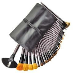 34 Pcs Professional Cosmetic Brush Makeup Brush Set