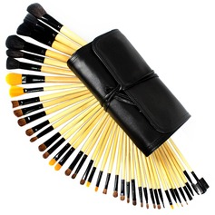 40 Pcs Professional Wool Makeup Brush Set