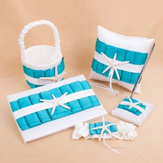 Beach Themed Collection Set in Satin With Sash/Starfish