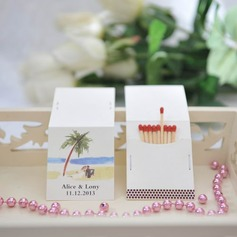 Personalized Palm Trees Hard Card Paper Matchboxes