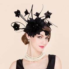 Ladies' Charming Cambric With Feather Fascinators