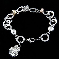 Gorgeous Alloy With Rhinestone Women's Fashion Bracelets