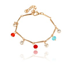 Colourful Alloy Ladies' Bracelets
