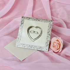 Heart Style Top Fold Invitation Cards