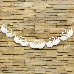 Elegant Swan Design Sponge Photo Booth Props/Banner