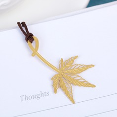 Leaf Design Zinc Alloy Bookmarks