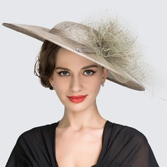 Ladies' Beautiful Spring/Summer Cambric With Bowler/Cloche Hat (196076056)