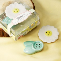 """Blossom"" Ceramic Salt & Pepper Shakers (Set of 2 pieces)"