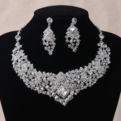 Beautiful Alloy/Rhinestones Ladies' Jewelry Sets (011092287)