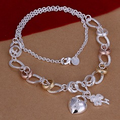 Beautiful Silver Plated Brass Ladies' Jewelry Sets