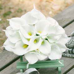 Eye-catching Round PE/Lace Bridesmaid Bouquets