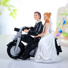 Vehicle Resin Wedding Cake Topper (011036195)