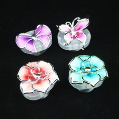 Butterfly and Flowers LED Lights (Set of 4) (Random Design)