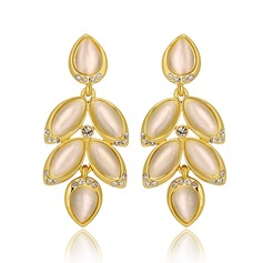 Attractive Tin Alloy Ladies' Earrings