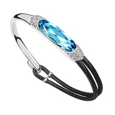 Fashion Alloy With Crystal Women's Bracelets