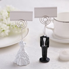 Tuxedo & Gown Resin Place Card Holders