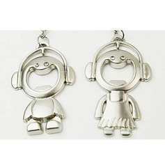 Boy and Girl Keychains/Bottle Opener (Set of 6 pairs) (051024827)