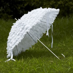 White Lace Wedding Umbrellas