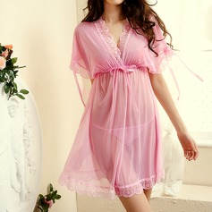 Chinlon Bridal/Feminine/Fashion Sleepwear Sets