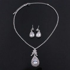 Classic Alloy/Rhinestones/Zircon Women's/Ladies' Jewelry Sets