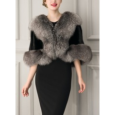 Faux Fur Fashion Wrap
