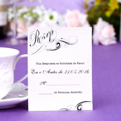 Personalized Magic Vines Pearl Paper Response Cards