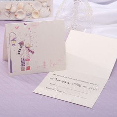 Personalized Fairytale Style Top Fold Response Cards