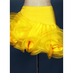 Women's Dancewear Spandex Organza Latin Dance Bottoms