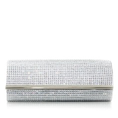 Lovely PU With Rhinestone Clutches