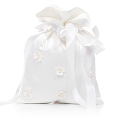 Elegant Satin With Imitation Pearl/Lace Bridal Purse