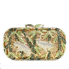 Lovely Metal/Sparkling Glitter Clutches/Luxury Clutches